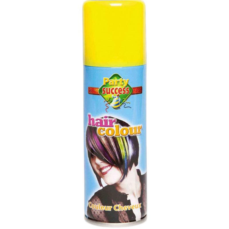 Žlutá barva na vlasy ve spreji