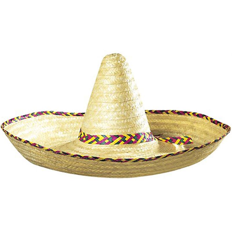 42832eba212 Mexické sombréro - klobouk průměr 65 cm