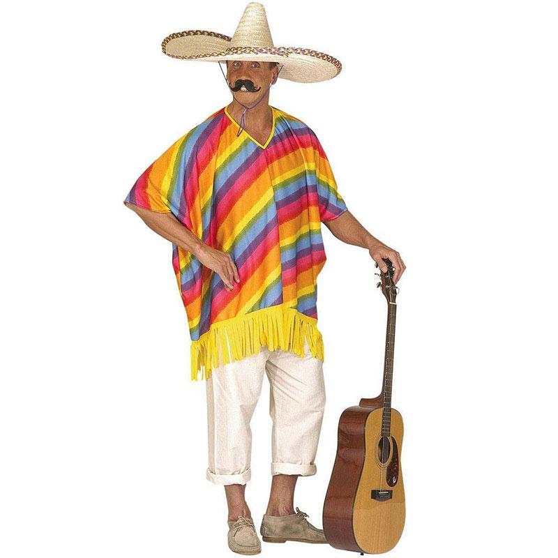 K Mexičanu patří typický slaměný klobouk 228b78d909