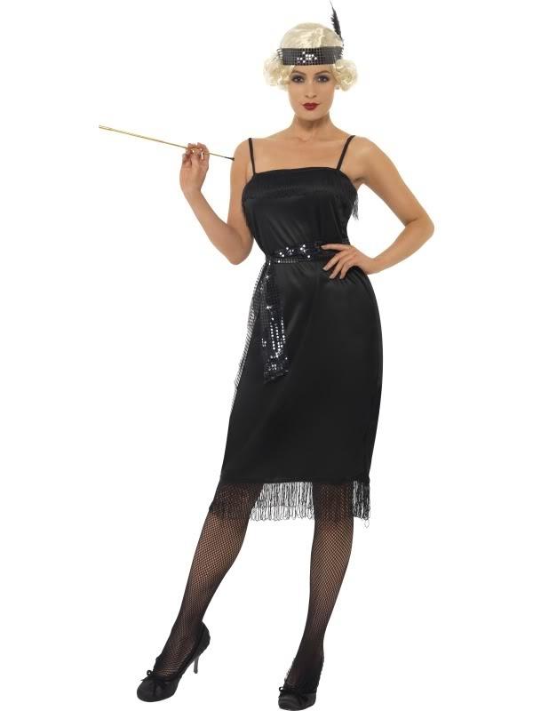 Retro párty kostým pro ženy - 30. léta c57bb3c866